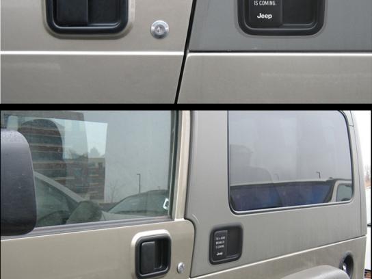 Door handle teaser