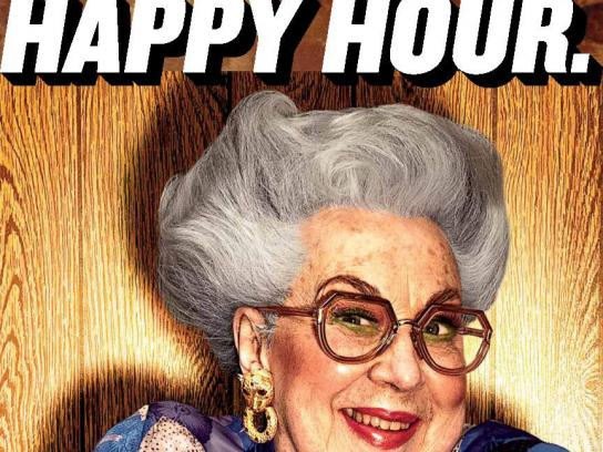 Ethel's Brew Print Ad -  Happy Hour