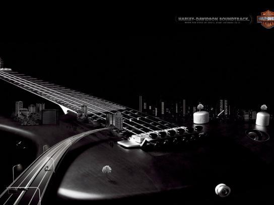Harley-Davidson Print Ad -  Sound, 3