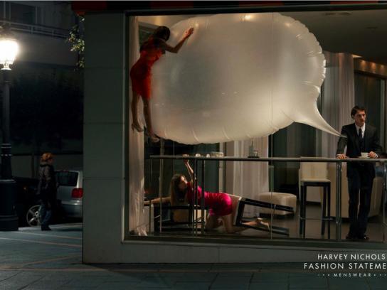 Harvey Nichols Outdoor Ad -  Fashion statement, 2