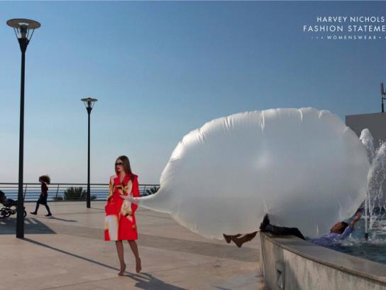Harvey Nichols Outdoor Ad -  Fashion statement, 3