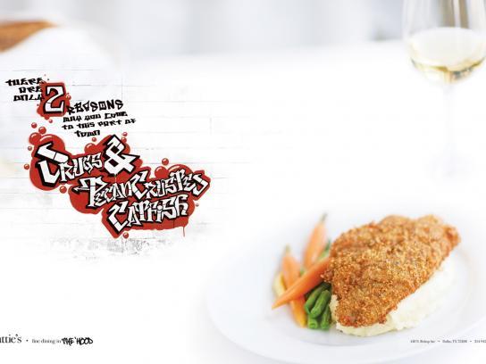 Hattie's Print Ad -  Catfish
