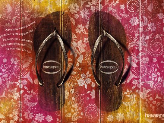 Havaianas Print Ad -  Havaianas make you more