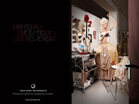 Joan Raga Orthodontics Print Ad -  Marie
