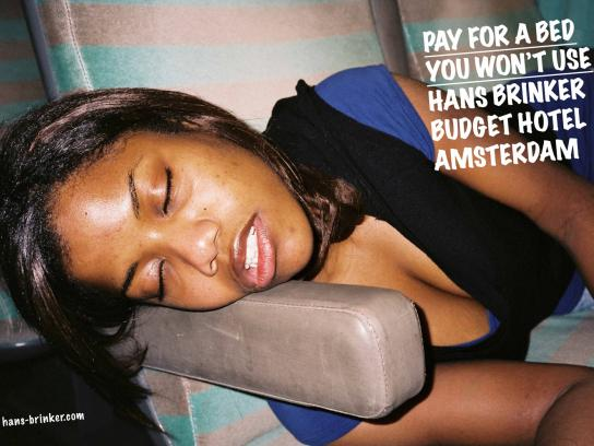 Hans Brinker Print Ad -  Girl