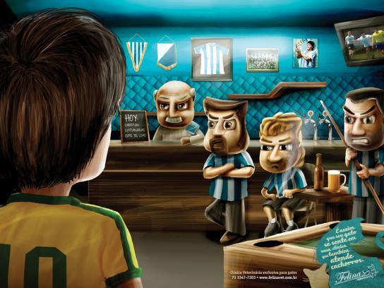 Felina Pet Shop Print Ad -  Brazilian