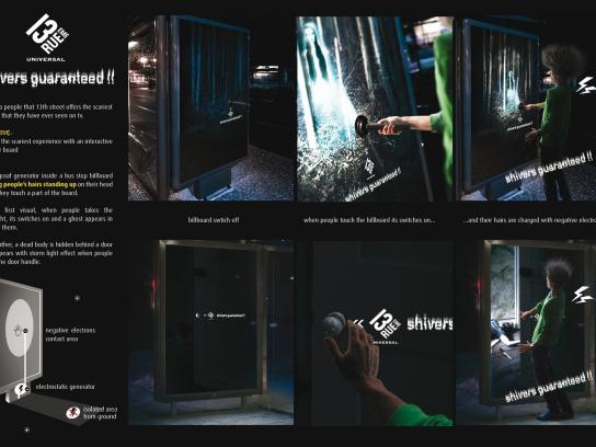 13th Street Outdoor Ad -  Shivers guaranteed