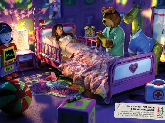Campaign Against Cholesterol, Doctor Teddy Bear