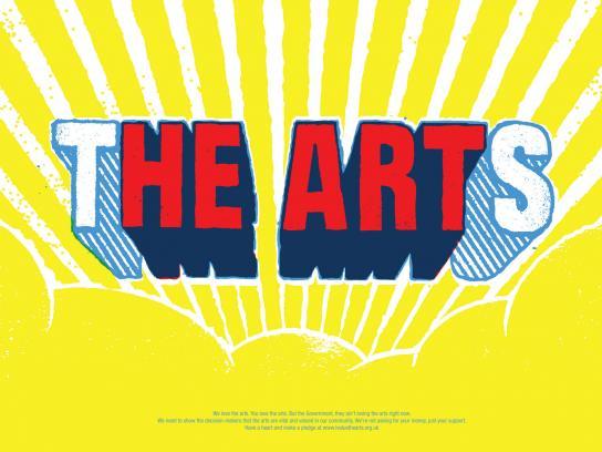 NCA Print Ad -  The Arts