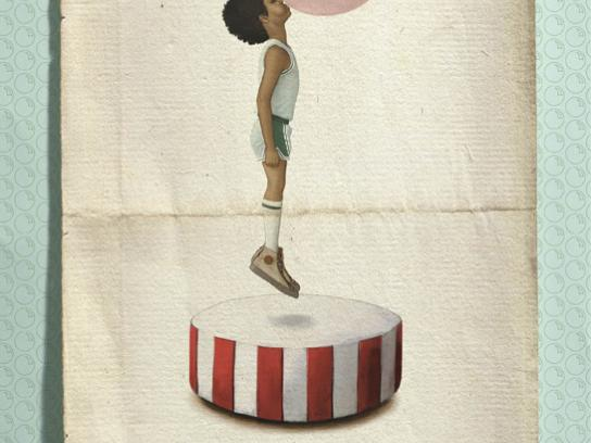 Sweets From Heaven Print Ad -  Levitating boy