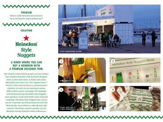 Heineken Ambient Ad -  Heineken Style Nuggets
