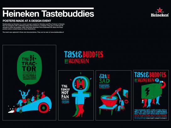 Heineken Outdoor Ad -  Tastebuddies