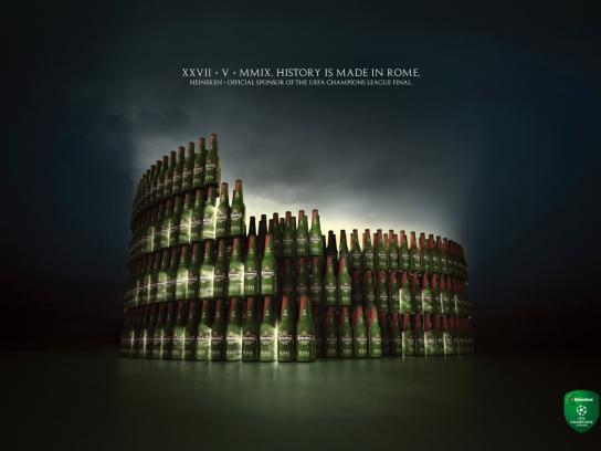 Heineken Print Ad -  Colosseum