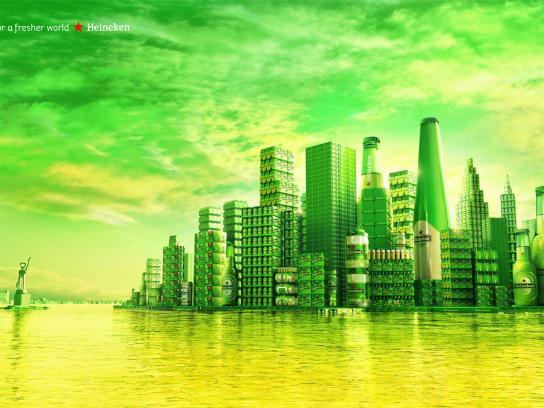 Heineken Print Ad -  Manhattan