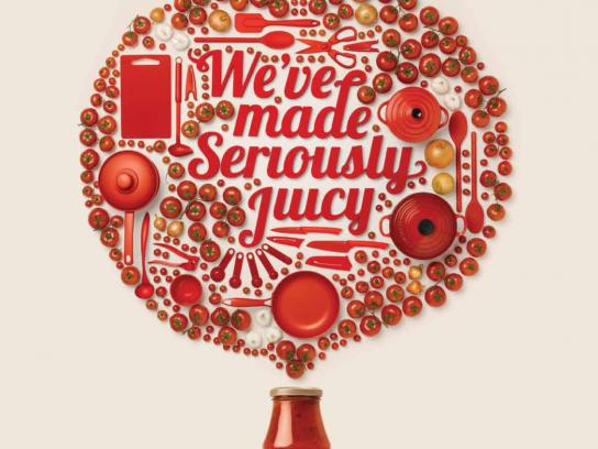 Heinz Print Ad -  Seriously Juicy