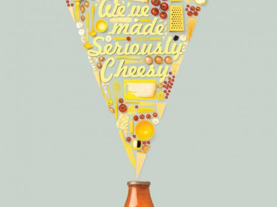 Heinz Print Ad -  Seriously Cheesy