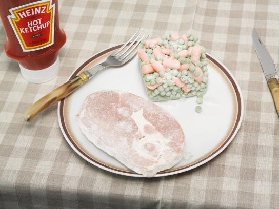 Heinz Print Ad -  Instant Hot Steak