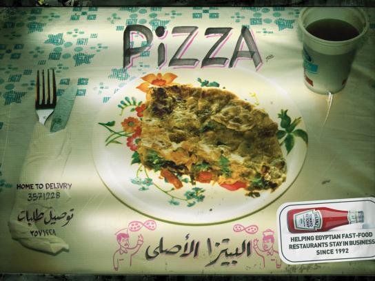 Heinz Print Ad -  Pizza