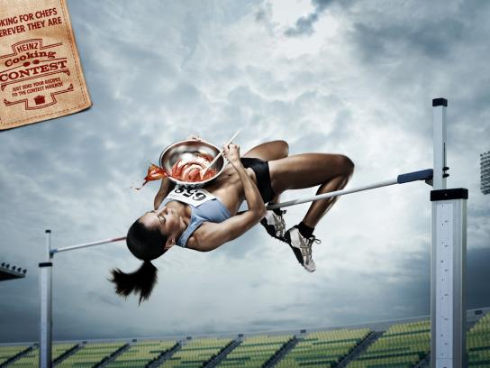 Heinz Print Ad -  Athlete