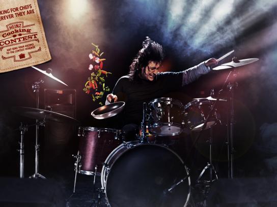 Heinz Print Ad -  Drummer