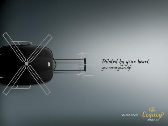 Legacy Print Ad -  Helicopter
