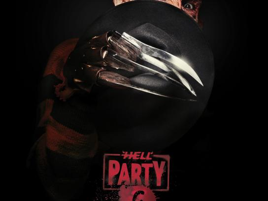 Hell tattoo Print Ad -  Hell party 6, Freddy