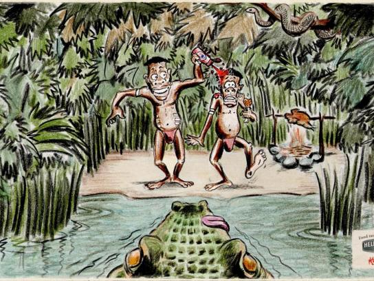 Hellmann's Print Ad -  Crocodile