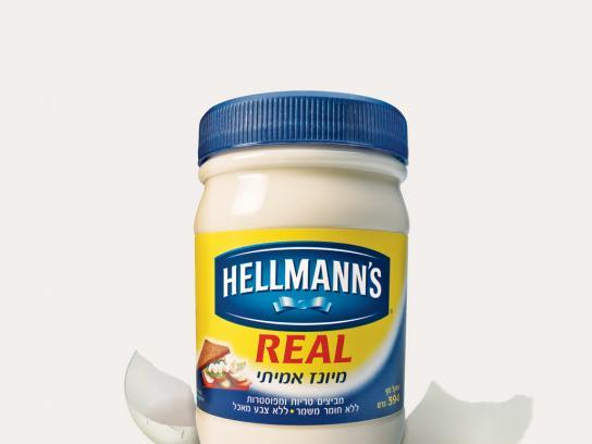 Hellmann's Print Ad -  Real