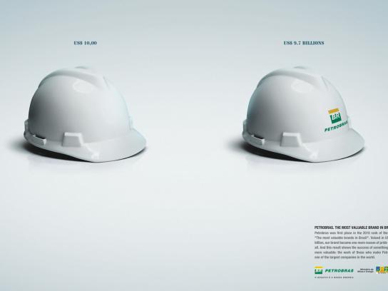 Petrobras Print Ad -  Helmet