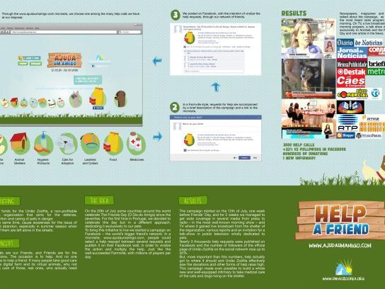 União Zoófila Digital Ad -  Help a Friend