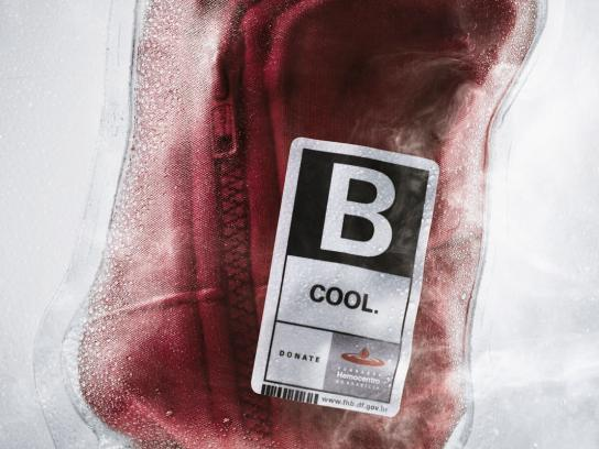 Fundação Hemocentro de Brasília Print Ad -  Body without blood gets cold too, 3