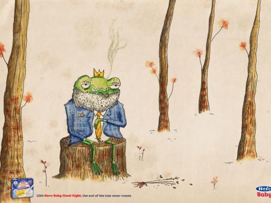 Hero Baby Print Ad -  The Frog Prince