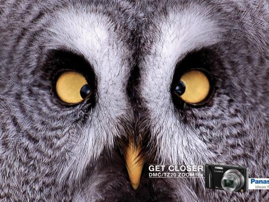 Panasonic Print Ad -  Owl