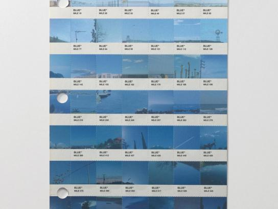 Renfe Print Ad -  Blue