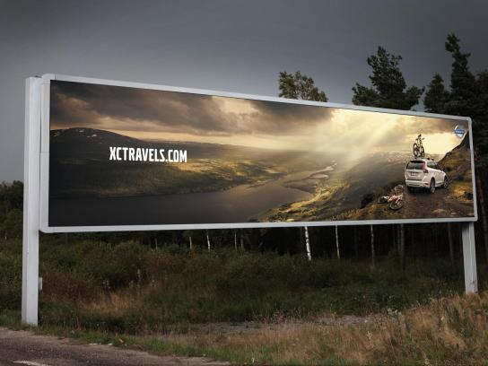 Volvo Outdoor Ad -  Hill