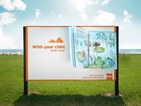 HIP Outdoor Ad -  Sign Storybook