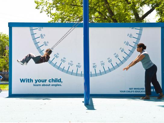 HIP Outdoor Ad -  Sign swing