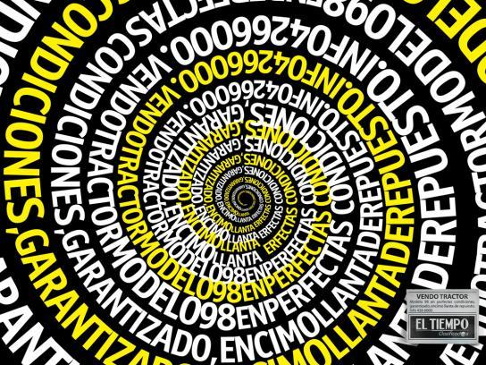 El Tiempo Print Ad -  Hipnotic
