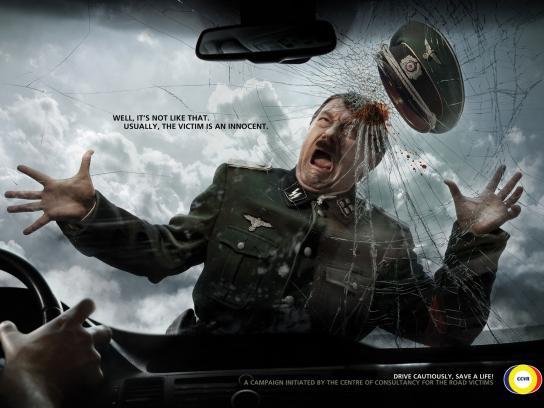 CCVR Print Ad -  Road Hitler