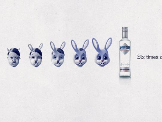 Amundsen Vodka Print Ad -  Hitlerabbit