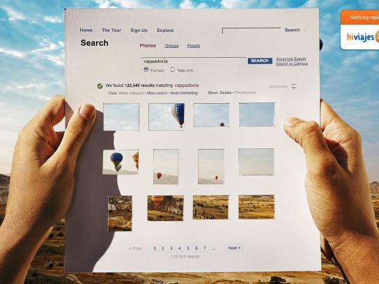 Hi Viajes Print Ad -  Flickr