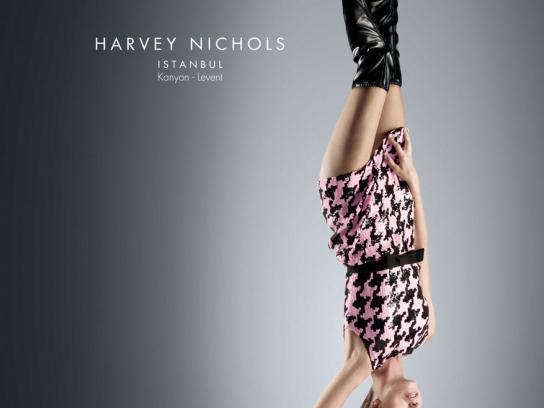 Harvey Nichols Print Ad -  Reborn, 1