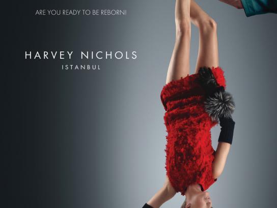 Harvey Nichols Print Ad -  Reborn, 2
