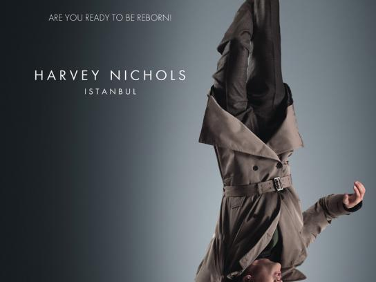 Harvey Nichols Print Ad -  Reborn, 3