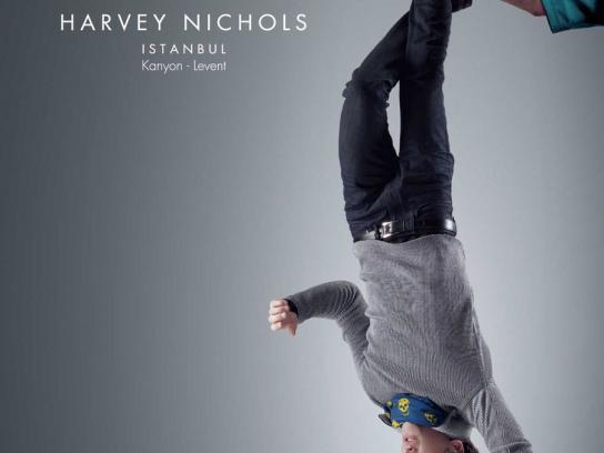 Harvey Nichols Print Ad -  Reborn, 4