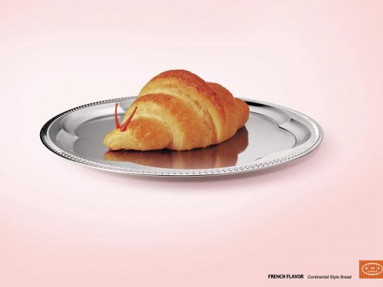Holiland Print Ad -  French