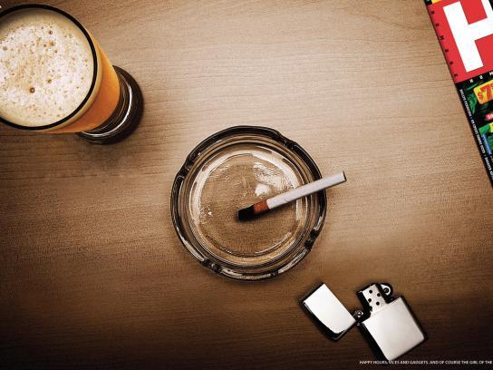 Hombre Print Ad -  Cigarette