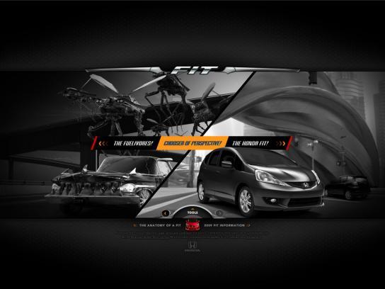 Honda Digital Ad -  Fit world