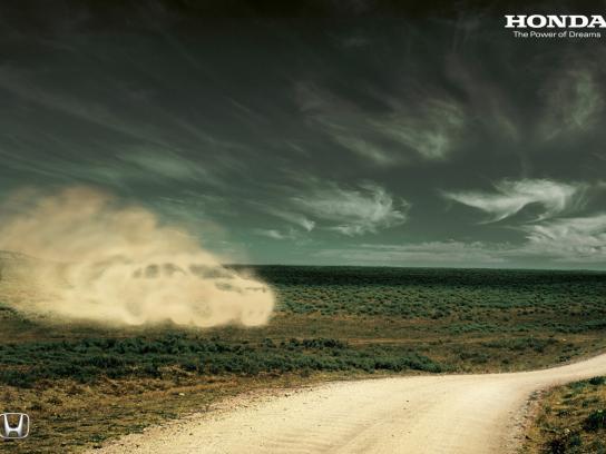 Honda Print Ad -  Sand