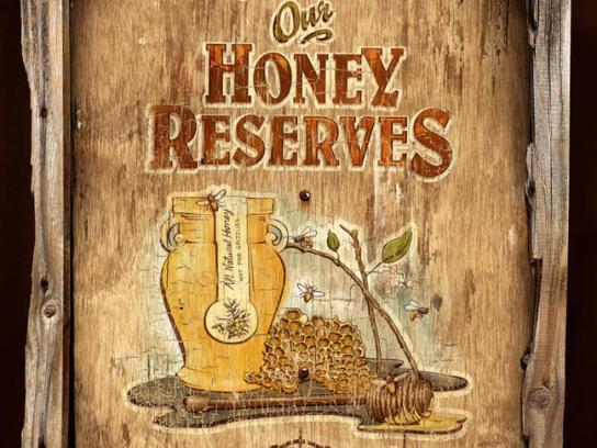 Alberta Wilderness Association Print Ad -  Honey